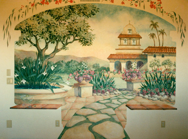 Mission Santa Barbara by Lucinda Hayes